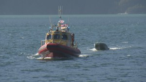 Family rescued after boat capsizes in Howe Sound